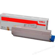 Toner OKI 44844613 - originálny (Žltý)