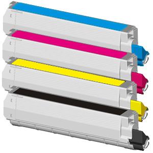 Tonery Náplně Toner OKI 42918913 kompatibilný (Žltý)