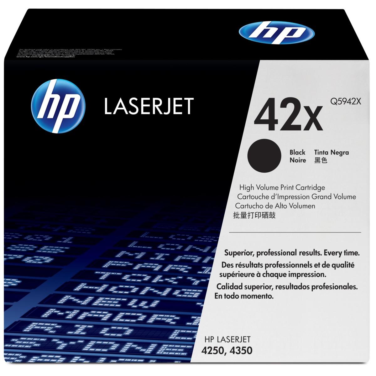Toner HP č.42X - Q5942X - originálný (Čierny) - vybalen z dualpacku