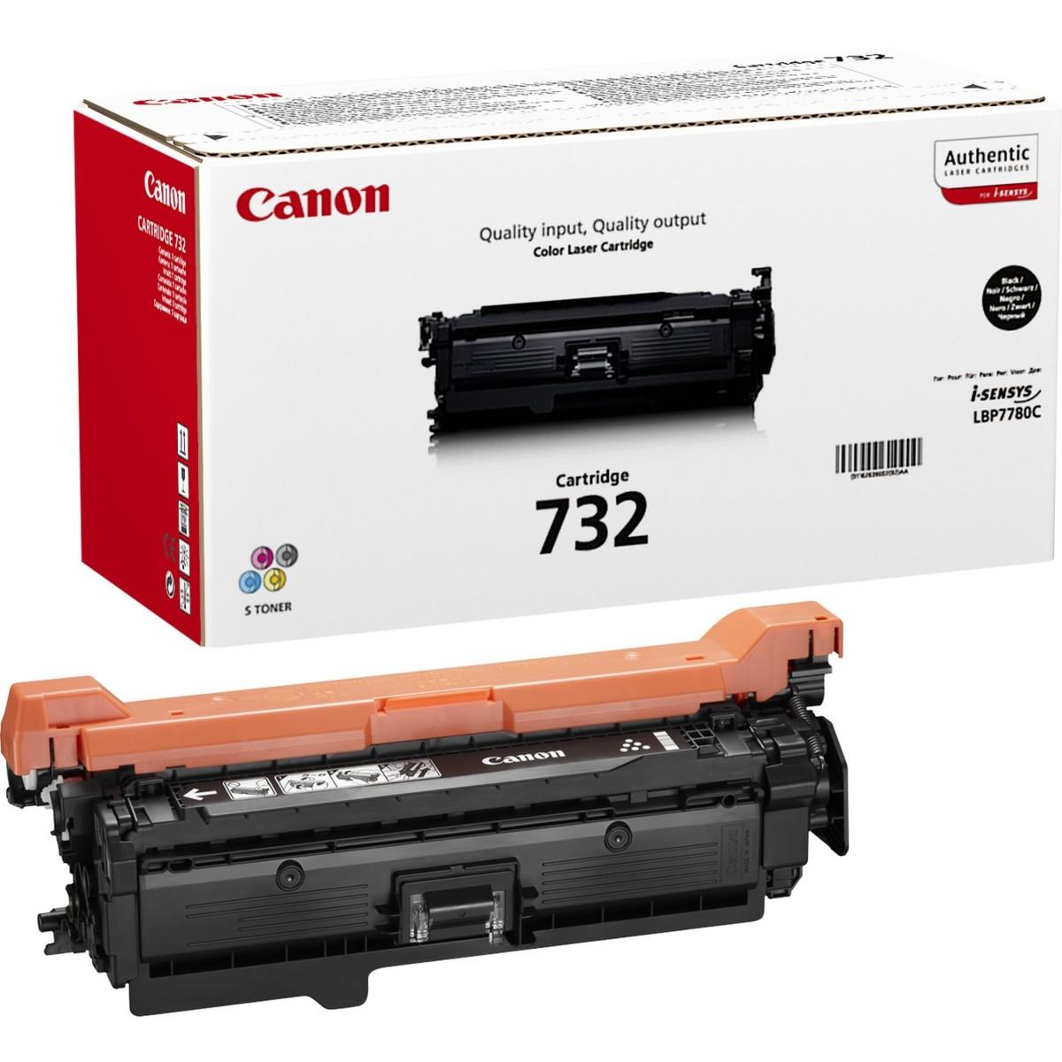 Toner Canon CRG-732Bk (Čierny) - originálný