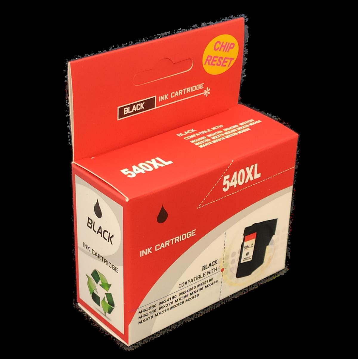 Tonery Náplně Canon PG-540XL kompatibilná kazeta XL (Čierna)