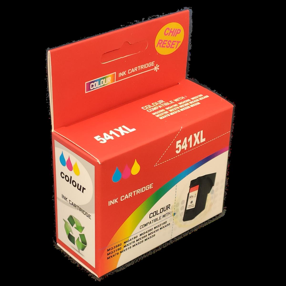 Tonery Náplně Canon CL-541XL kompatibilná kazeta s čipom (Farebná) - Tonery a Náplne