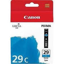 Cartridge Canon PGI-29C, 4873B001 (Azúrová)% - originál