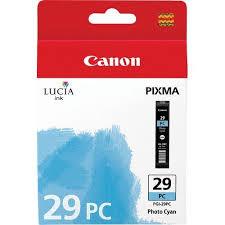 Cartridge Canon PGI-29PC, 4876B001 (Foto azúrová)% - originál