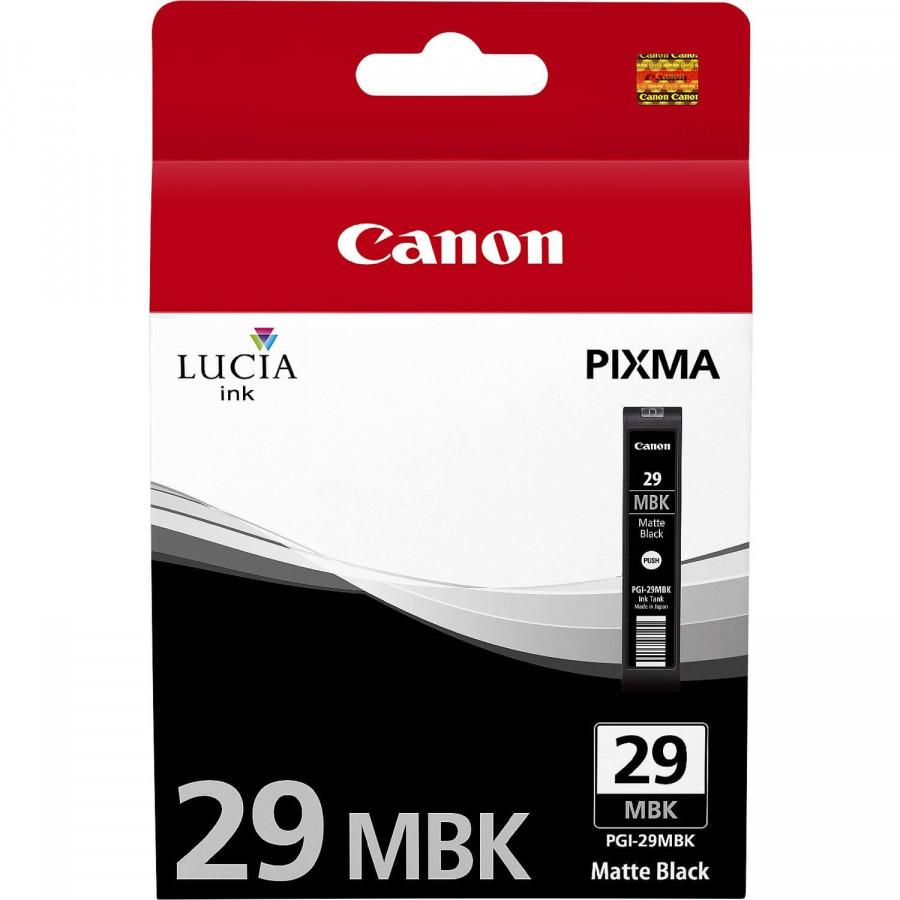 Cartridge Canon PGI-29MBK, 4868B001 (Čierna matná)% - originál