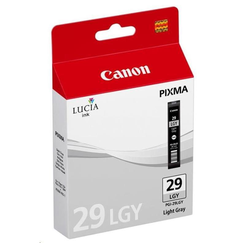 Cartridge Canon PGI-29LGY, 4872B001 (Svetlá sivá) - originálný