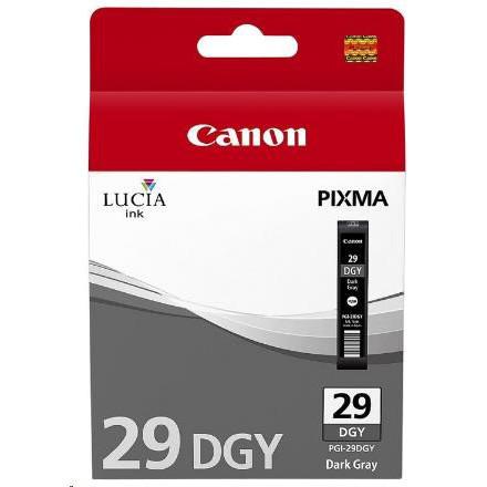 Cartridge Canon PGI-29DGY, 4870B001 (Tmavo sivá) - originálný