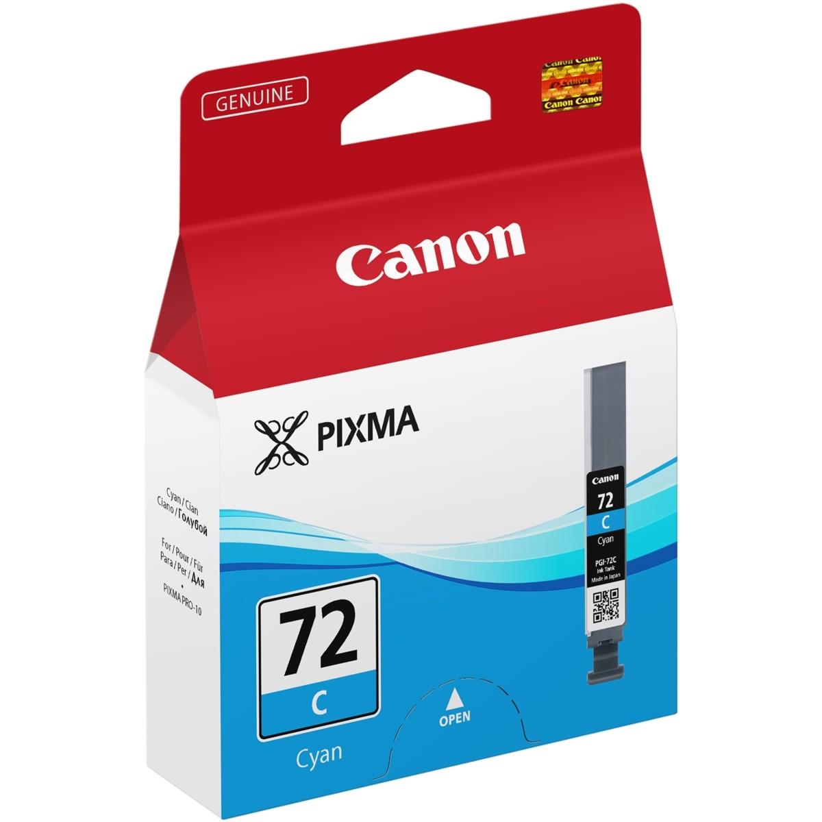 Cartridge Canon PGI-72C, 6404B001 (Azúrová) - originálný
