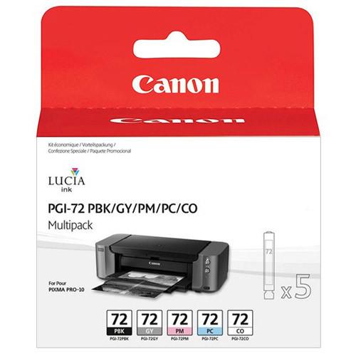 Sada Canon PGI-72 PBK / GY / PM / PC / CO, 6403B007, Multi-Pack - originálný