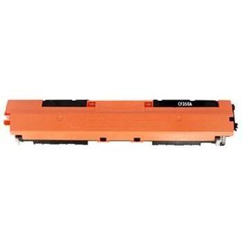 Tonery Náplně Toner HP CF350A, HP 130A kompatibilná kazeta s čipom (Čierna)