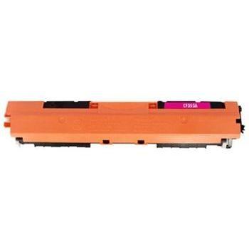 Tonery Náplně Toner HP CF353A, HP 130A kompatibilná kazeta (Purpurová)