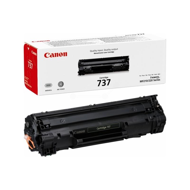 Toner Canon CRG-737, Canon 9435B002 (Čierny) - originálný