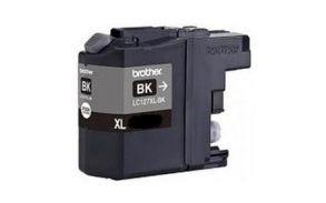 Tonery Náplně Cartridge Brother LC-127Bk kompatibilný s čipom 28ml (Čierna)
