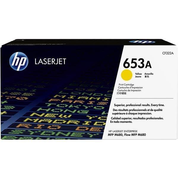 Toner HP 653A, HP CF322A (Žltá) - originálný