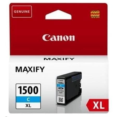 Cartridge Canon PGI-1500XL C, 9193B001 (Azúrová) - originálný