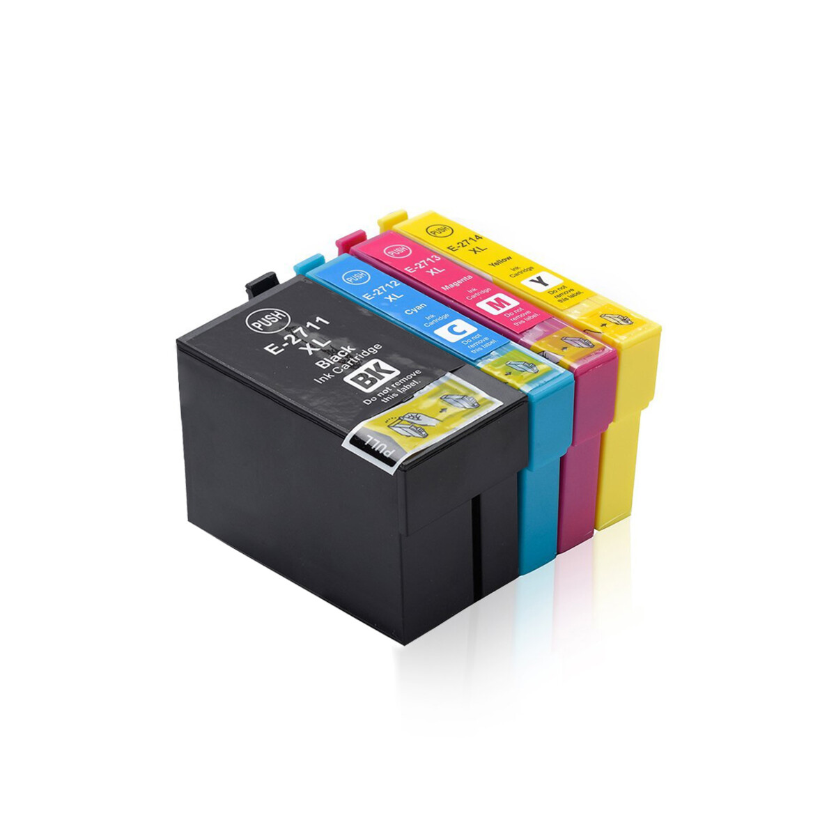 Tonery Náplně Epson T2715, kompatibilný s čipom sada (Multipack CMYK)% - originál
