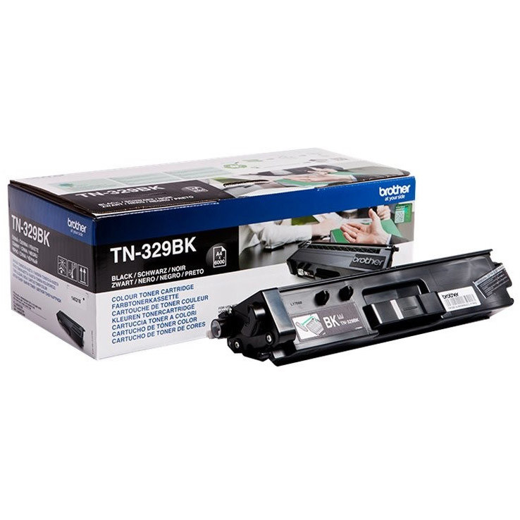 Toner Brother TN-329BK, TN329BK - originálny (Čierny)