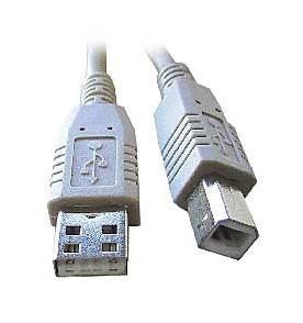 USB kábel k tlačiarni 1,8m, AB
