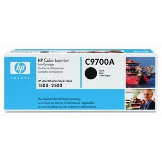 HP Tonerová cartridge HP Color LaserJet 1500, L, 2500, N, L, TN, čierna, C9700A, 500 - originál