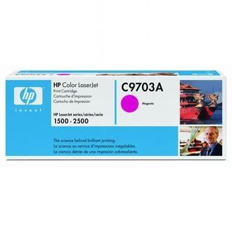 HP Tonerová cartridge HP Color LaserJet 1500, L, 2500, N, L, TN, červená, C9703A, 4% - originál