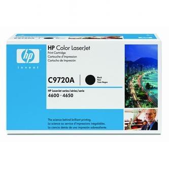 Toner HP C9720A (Čierny)% - originál