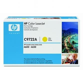 Toner HP C9722A (Žltý)% - originál
