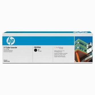 HP Tonerová cartridge HP Color LaserJet CM6030, 6040, čierna, CB390A, 19500s, O - originál