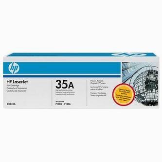 HP Tonerová cartridge HP LaserJet P1005, 1006, čierna, CB435A, 1500s, O% - originál