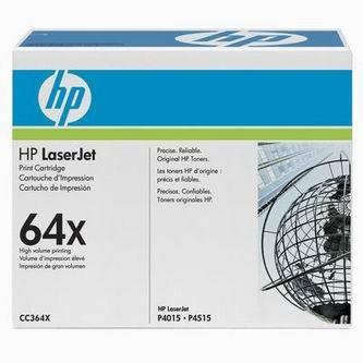 HP Tonerová cartridge HP LaserJet P4015, 4515, čierna, CC364X, 24000s, O% - originál
