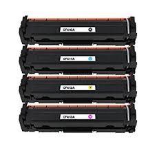 Tonery Náplně Toner HP 410A, HP CF411A kompatibilný s čipom kazeta (Azúrový)