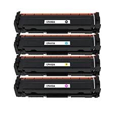 Tonery Náplně Toner HP 410A, HP CF412A kompatibilný s čipom kazeta (Žlty)