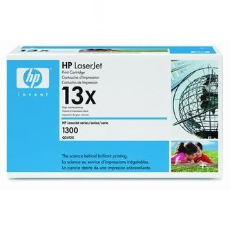 HP Tonerová cartridge HP LaserJet 1300, 1300N, čierna, Q2613X, 4000s, O% - originál