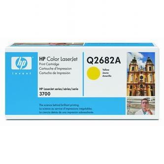 HP Tonerová cartridge HP Color LaserJet 3700, N, DN, DTN, žltá, Q2682A, 6000s, O% - originál