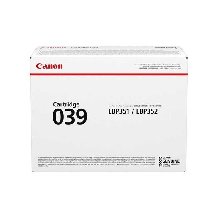 Toner Canon 039, 0287C001 - originálny (Čierny)