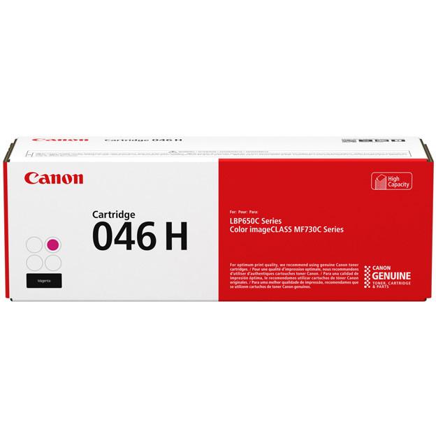 Toner Canon 046H, 1252C002, CRG-046H - originálny (Purpurový)