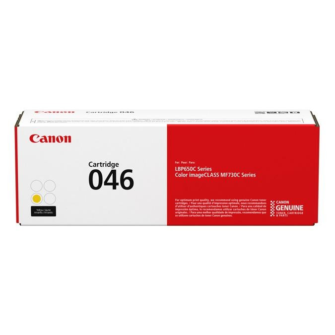 Toner Canon 046, 1247C002, CRG-046 - originálny (Žltý)