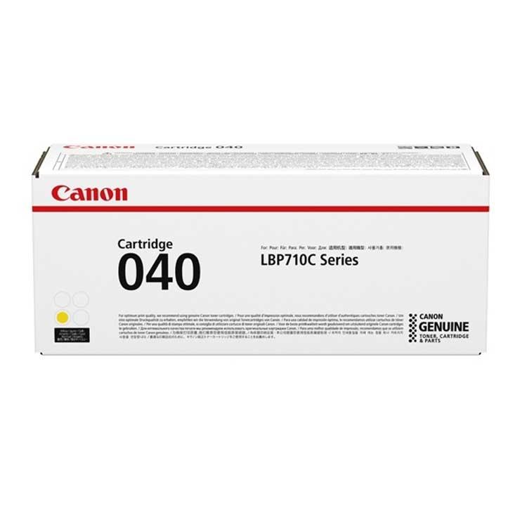 Toner Canon 040, 0454C001 - originálny (Žltý)