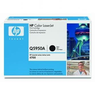 HP Tonerová cartridge HP Color LaserJet 4700, n, dn, dtn, ph +, čierna, Q5950A, 11000% - originál