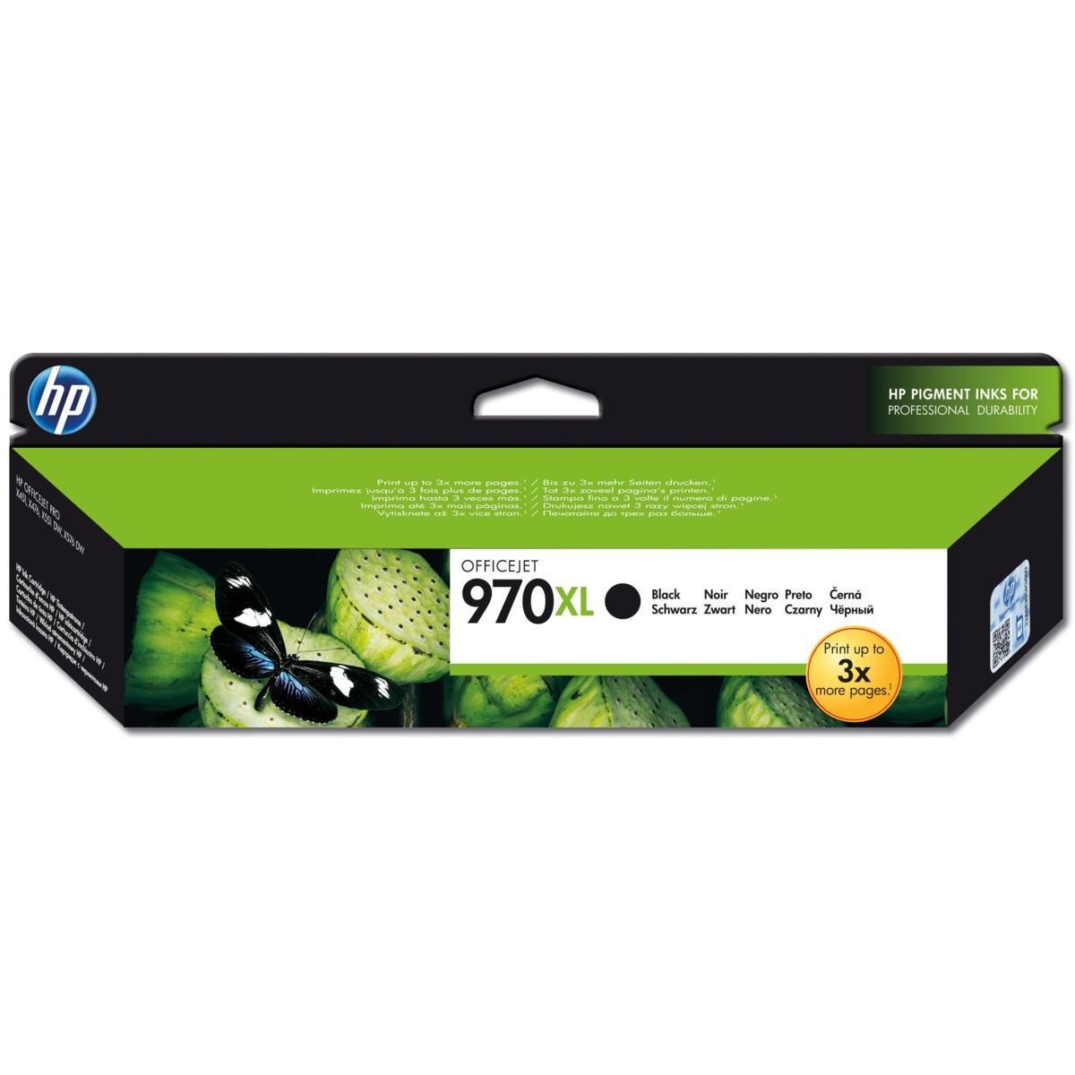 Cartridge HP 970XL, HP CN625AE - originálny (Čierna)