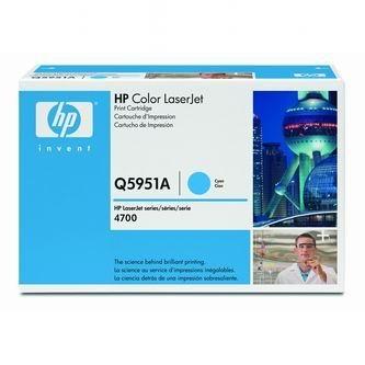 HP Tonerová cartridge HP Color LaserJet 4700, n, dn, dtn, ph +, modrá, Q5951A, 10000% - originál