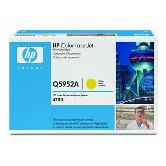 HP Tonerová cartridge HP Color LaserJet 4700, n, dn, dtn, ph +, žltá, Q5952A, 10000% - originál