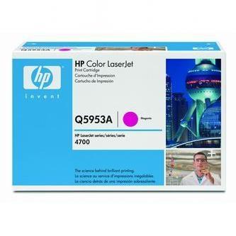 HP Tonerová cartridge HP Color LaserJet 4700, n, dn, dtn, ph +, červená, Q5953A, 100% - originál