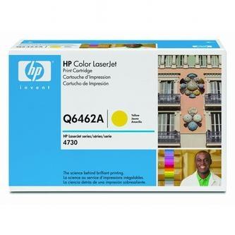 HP Tonerová cartridge HP Color LaserJet 4730mfp, 4730x, xm, xs, žltá, Q6462A, 1200% - originál
