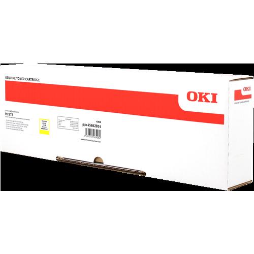 Toner OKI 45862814 - originálny (Žltý)