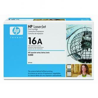 HP Tonerová cartridge HP LaserJet 5200, TN, DTN, čierna, Q7516A, 12000s, O% - originál