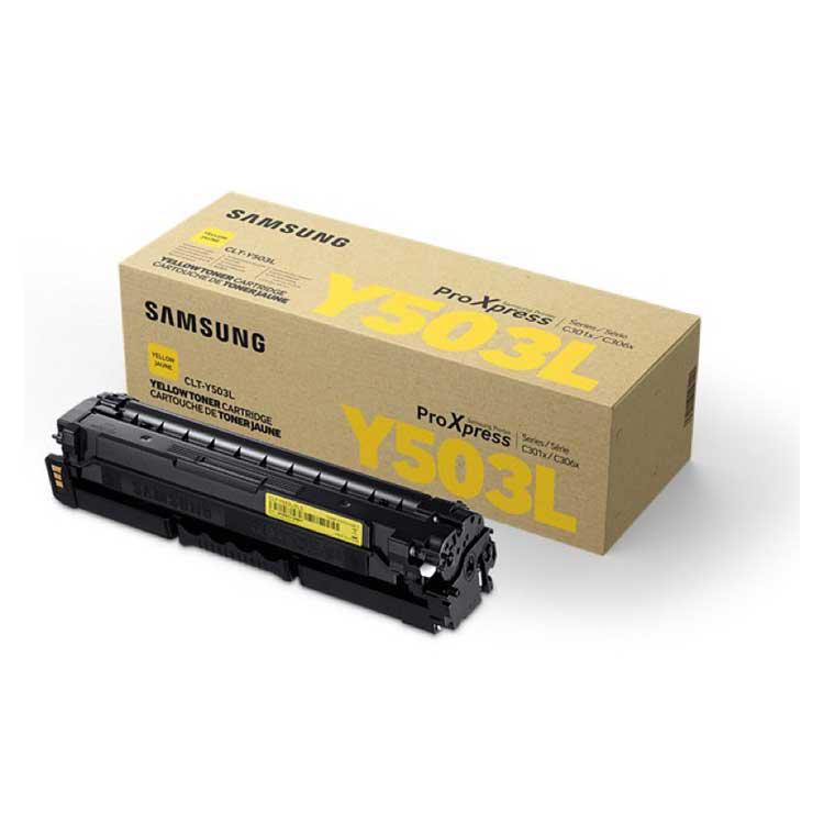 Toner Samsung CLT-Y503L, SU491A - originálny (Žltý)