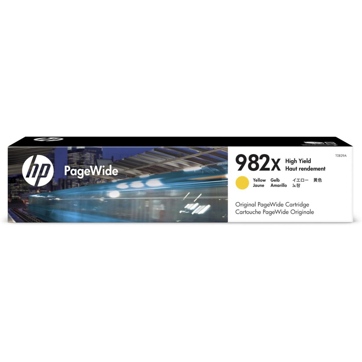 Toner HP 982X, HP T0B29A - originálny (Žltý)
