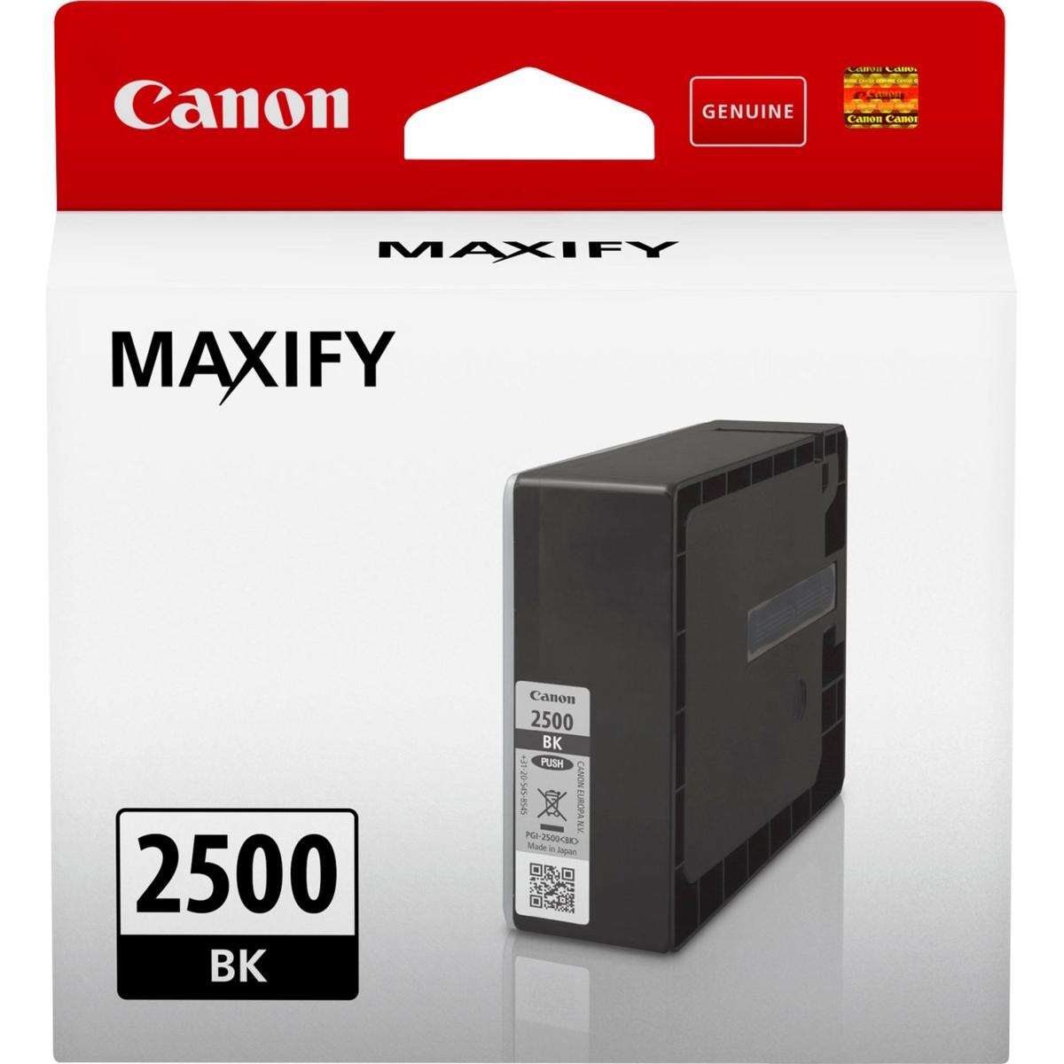 Cartridge Canon PGI-2500 BK, 9290B001 - originálny (Čierna)