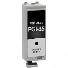 Tonery Náplně Canon PGI-35, kompatibilní (Černá)