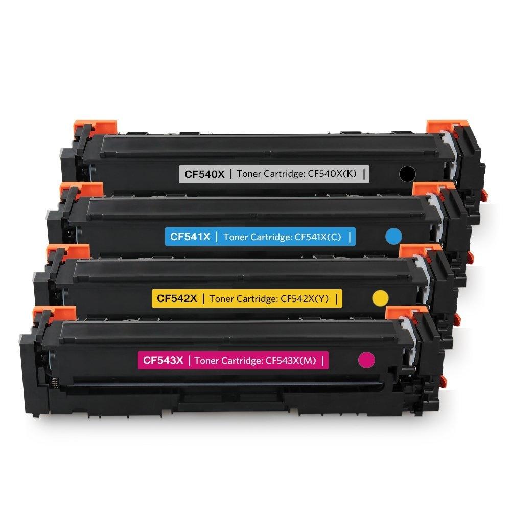Tonery Náplně Toner HP 203X, HP CF540X - kompatibilní (Čierny)